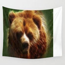 The Bear Spirit Wall Tapestry