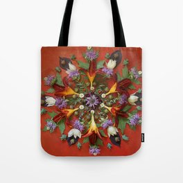 July Nature Mandala II Tote Bag