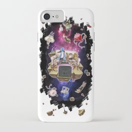 Regular Show lost in Universe iPhone Case