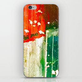 City Aflame and Drowning iPhone Skin