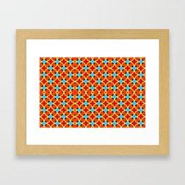 Lady Bug Bugging Out Framed Art Print