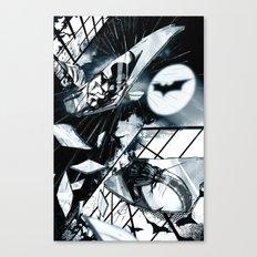 Glass is Broken Canvas Print