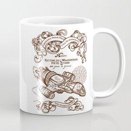 The Smuggler's Map Coffee Mug