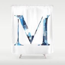 Letterforms M : Margo Shower Curtain