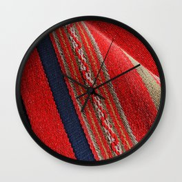 Poncho Wall Clock
