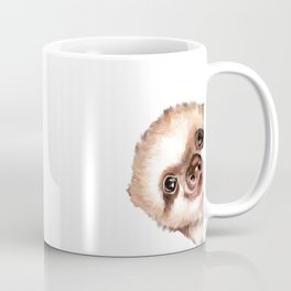 Sneaky Baby Sloth Coffee Mug