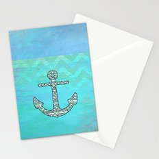 Tribal Anchor Stationery Cards