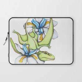D is for Dimorphodon and Dietes Grandflora Laptop Sleeve