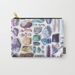 I Like Crystals Carry-All Pouch