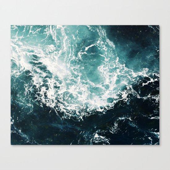Sea waves II Canvas Print