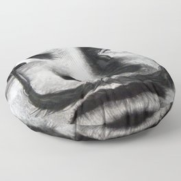 I am drugs ( Salvador Dali ) Floor Pillow