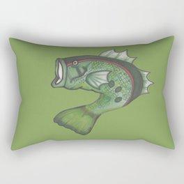 Basculin - Red Rectangular Pillow