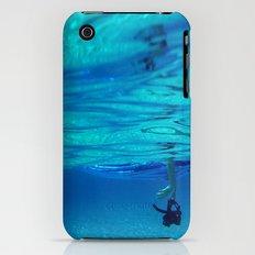 Bottomless blue iPhone (3g, 3gs) Slim Case