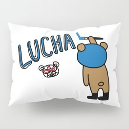 LUCHA#76 Pillow Sham