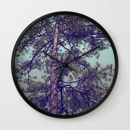 OLD PINE Wall Clock