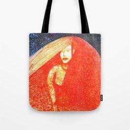 Red Bride Tote Bag