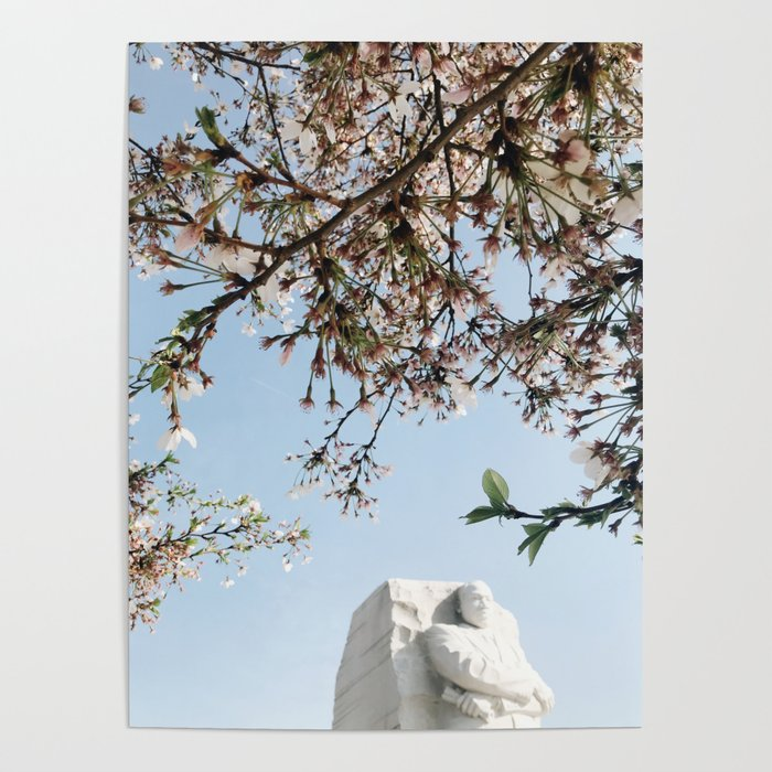 Martin Luther King in Peak Bloom Poster