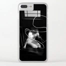 upstairs Clear iPhone Case