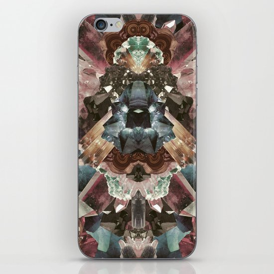 Crystal Collage iPhone & iPod Skin