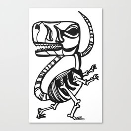 Dino Time Canvas Print