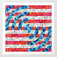 Abstract America Art Print