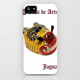 Ceremonial Jaguar Mask Casa de Artes - Antigua Guatemala iPhone Case