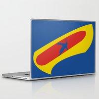 cyclops Laptop & iPad Skins featuring Cyclops by Adam Grey