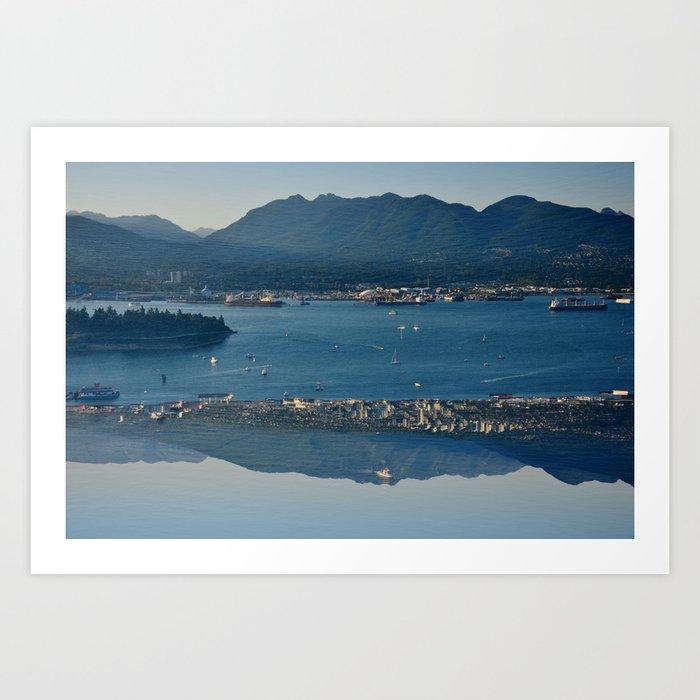 Vancouve Harbour Art Print