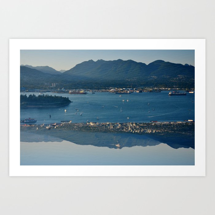 Vancouve Harbour Art Print