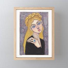 The Beholder Framed Mini Art Print