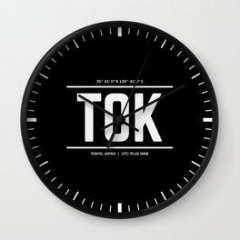 Tokyo Time Wall Clock