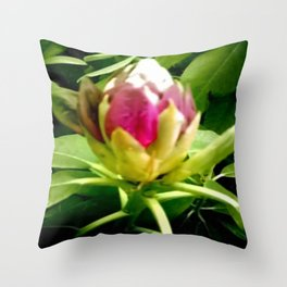 Rhododendron. Throw Pillow