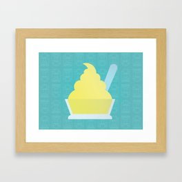 Disneyland Dole Whip, Tiki Room Delight Framed Art Print