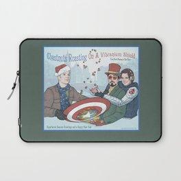 Superheroic Seasons Greetings (Chestnuts Roasting) Laptop Sleeve