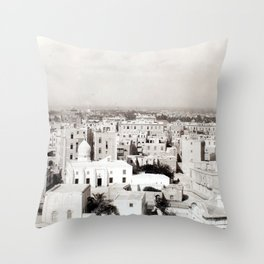 Alexandria, Egypt 1901 Throw Pillow