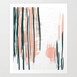 Morning in Japan Art Print