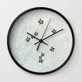 Libra x Astrology x Zodiac Wall Clock