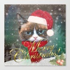 ~ Meowy Christmas ~ Canvas Print