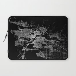 vancouver map canada Laptop Sleeve