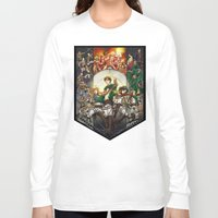 snk Long Sleeve T-shirts featuring wir sind die Jager (we are the hunters) by ghostfire
