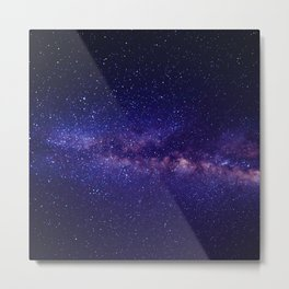 In the space Metal Print