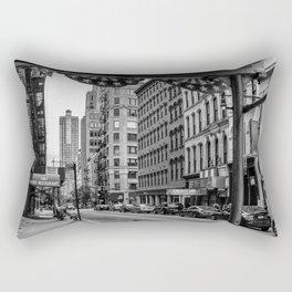 Early morning in TriBeCa of Lower Manhattan in New York City Rectangular Pillow