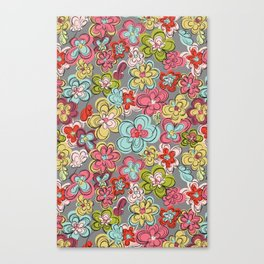 Spring Blossom, Flower Bloom Canvas Print