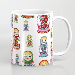 Russian nesting dolls pattern Coffee Mug