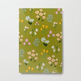 Tiny little floral Metal Print