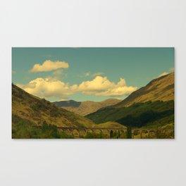 The Glenfinnan Viaduct Canvas Print