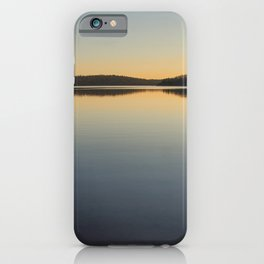 Lake in Mauricie, Qc, Canada iPhone Case