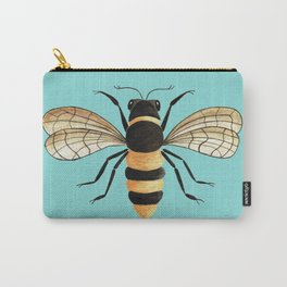 Gold Bee Carry-All Pouch