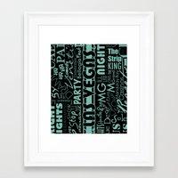 las vegas Framed Art Prints featuring Las Vegas by Chelsea Dianne Lott