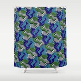 Geometrix 103 Shower Curtain